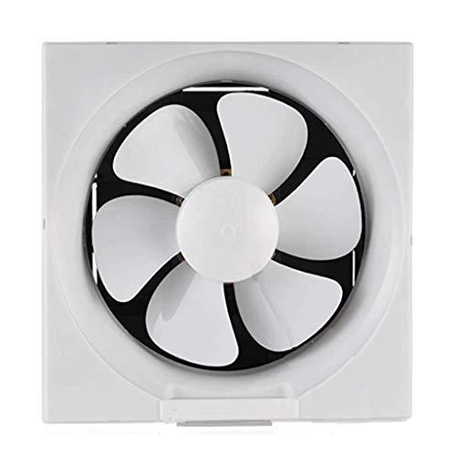 Ventilador de ventilación doméstico Rejilla Tipo Extintor De 8 Pulgadas, Cocina/Baño Ventilador De Ventilación De Alta Potencia Y De Gran Alcance del Silencio LITING