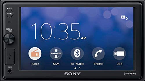 "Sony XAVAX1000 6.2"" (15.7 cm) Apple CarPlay Media Receiver with"