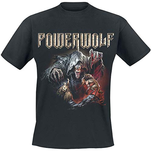 Powerwolf The Sacrament of Sin Männer T-Shirt schwarz XXL 100% Baumwolle Band-Merch, Bands