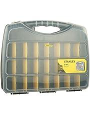 Stanley STST73824-8 48cm Poly Organizer ve Avadanlık Çanta, sarı-siyah