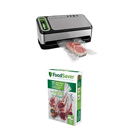 """FoodSaver 4840 2-in-1 Vacuum Sealing System and 11"""" Roll Bundle"""