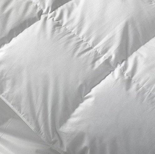 SEASONS Camapolis-Edredón Nórdico Plumón, 90% Duvet, 100% algodón Batista, Disponible en Varias Medidas. (Blanco, 240 X 220)
