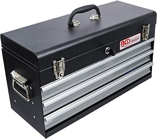 BGS 3318 | Metall-Werkzeugkoffer | mit 143 Werkzeugen | 3 Schubladen | mit Werkzeug gefüllt - 3
