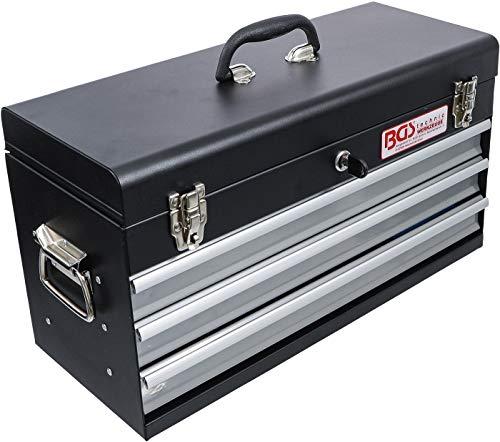 BGS 3318 | Metall-Werkzeugkoffer | mit 143 Werkzeugen | 3 Schubladen | mit Werkzeug gefüllt - 8