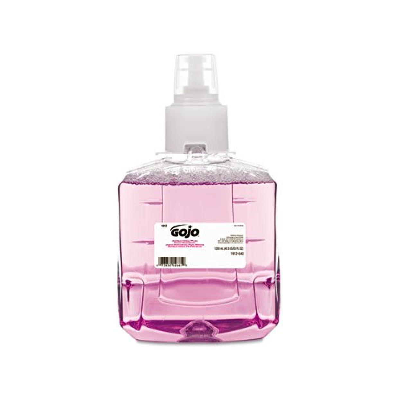 ベット分析的な透けて見えるGOJO抗菌泡手洗い、詰め替え、プラム、1200?ml詰め替え、2?/カートン