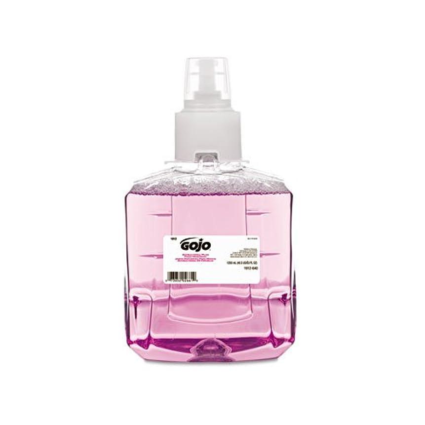 アナロジー名門真っ逆さまGOJO抗菌泡手洗い、詰め替え、プラム、1200?ml詰め替え、2?/カートン