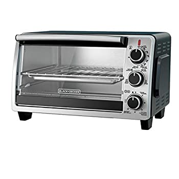 BLACK+DECKER TO1950SBD 6-Slice Convection Countertop Toaster Oven Includes Bake Pan Broil Rack & Toasting Rack Stainless Steel/Black Convection Toaster Oven
