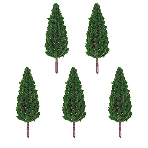 Cratone Miniatur-Feengarten, Baumschmuck, Bastelzubehör, Mikro-Landschaft, Pflanzen, Ornamente, Puppenhaus, Blumentopf, Sukkulenten, 5 Stück