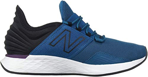 New Balance Men's Fresh Foam Roav V1 Sneaker, Dark Neptune/Black, 9 M US
