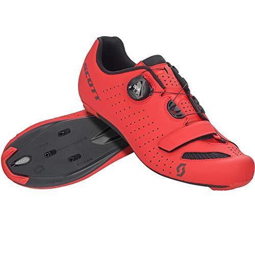 SCOTT 251817, Scarpa Ciclismo Uomo, Matt Red/BK, 43.0