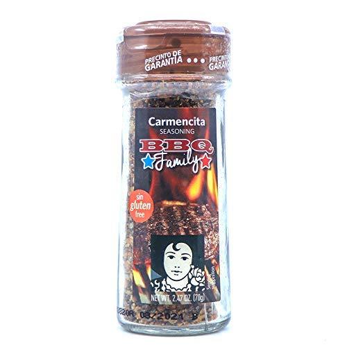 Carmencita BBQ Family Seasoning 70g - Tus barbacoas en el estilo más puro de los Estados Unidos con la intensidad y frescura de este condimento