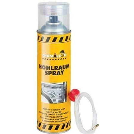 Chamäleon Hohlraum 500ml Spray Versiegelung Hohlraumschutz 1k Hohlraumversiegelung Hohlraumkonservierer SprÜhdose 1 Auto