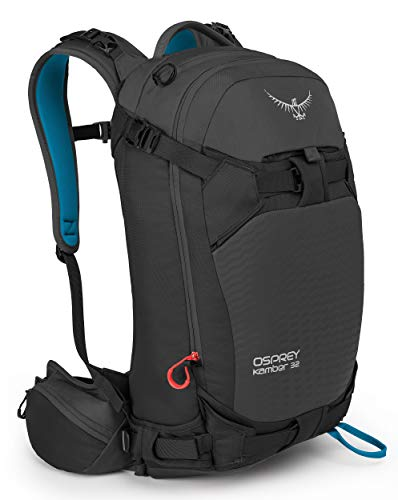 Osprey Kamber 32 Men's Ski Backpack, Galactic Black , Medium/Large
