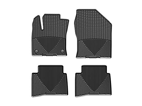 WeatherTech All-Weather Floor Mats for Prius/Prius Prime - 1st & 2nd Row - W400-W401 (Black)