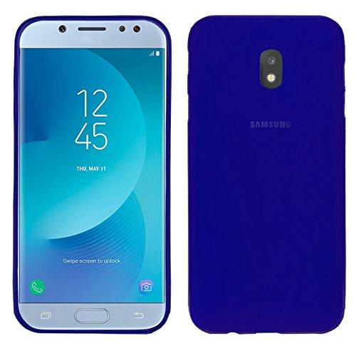 TBOC® Blau Gel TPU Hülle für Samsung Galaxy J5 (2017) J530F (5.0 Zoll) Superdünn Flexibel Silikonhülle