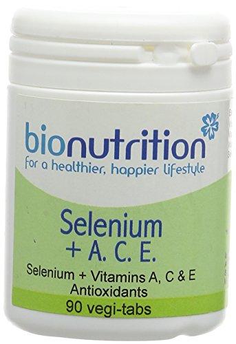 Bio Nutrition Selenium + A. C. E. - Antioxidant and Immune Combination - 90 vegi-tabs