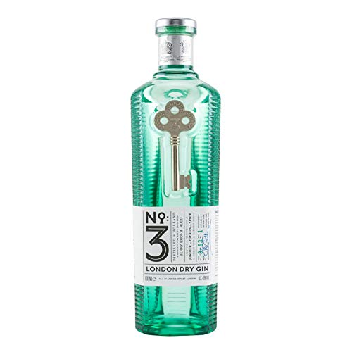 No. 3 London Dry Gin 46,00 % 0.7 l.