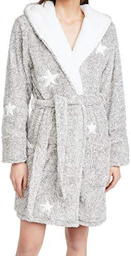 PJ Salvage Women s Loungewear Cozy Items Robe Heather Grey XL product image