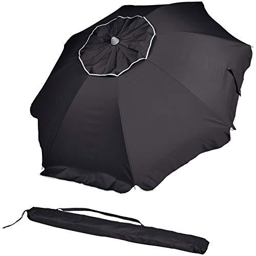 AmazonBasics Beach Umbrella - Black