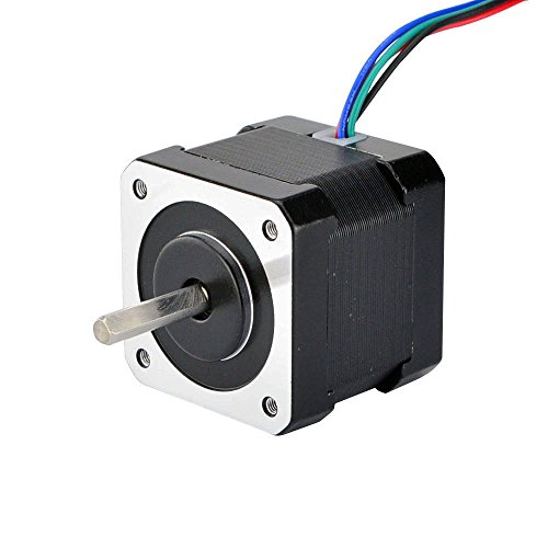 STEPPERONLINE Stepper Motor Nema 17 Bipolar 40mm 64oz.in(45Ncm) 2A 4 Lead 3D Printer Hobby CNC