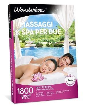 Wonderbox Cofanetto Regalo - Massaggi & Spa per Due - Valido 3 Anni e 3 Mesi
