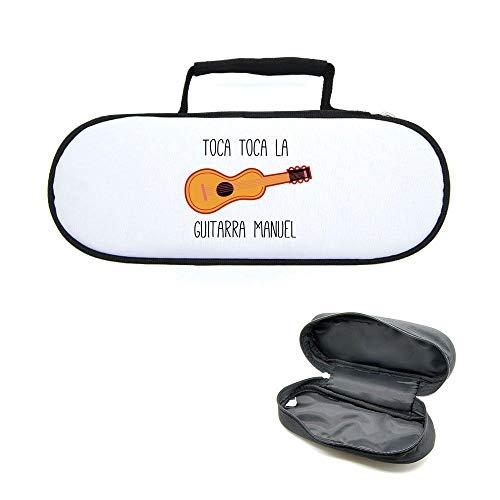 Mygoodprice Caja Funda para Bolas de Petanca Toca Toca Guitarra Manual