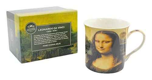Lesser & Pavey, Monna Lisa di Leonardo da Vinci, tazza multicolore