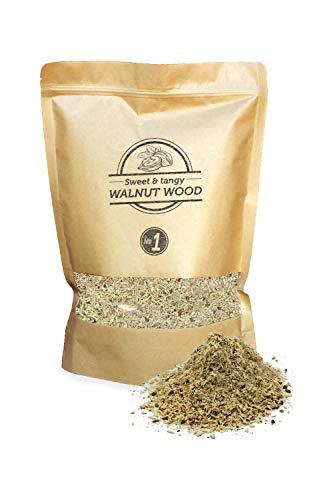 Smokey Olive Wood 1.5L Polvere per affumicatura a Freddo - Legno di Noce, Nº1: 0-1mm