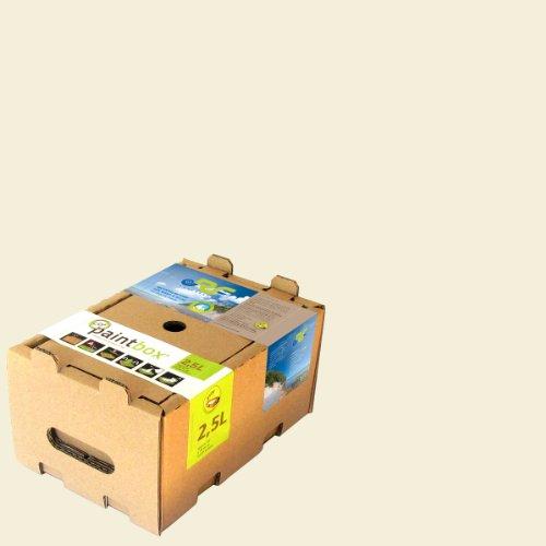 Paintbox 2383L - Pittura per interni a base di gesso naturale, 2,5 l, bianco gesso