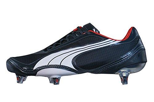 PUMA V1.08 SG Mens Fußballschuh/Cleats - schwarz - Size EU 40.5