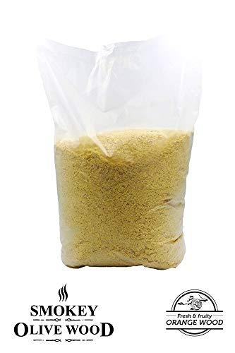 Sac de sciure d'oranger 5 kg pour fumage - Smokey Olive Wood