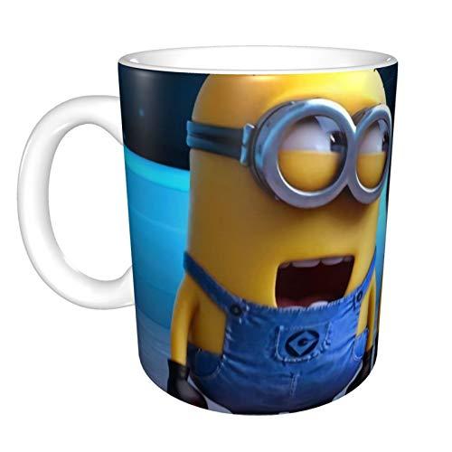 Minions Henkelbecher – lustig, Unisex, lustige Tasse für Kaffee, Tee, Cappuccino