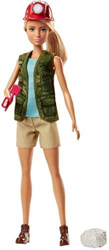 Barbie Quiero Ser arqueóloga, muñeca con accesorios (Mattel FJB12)