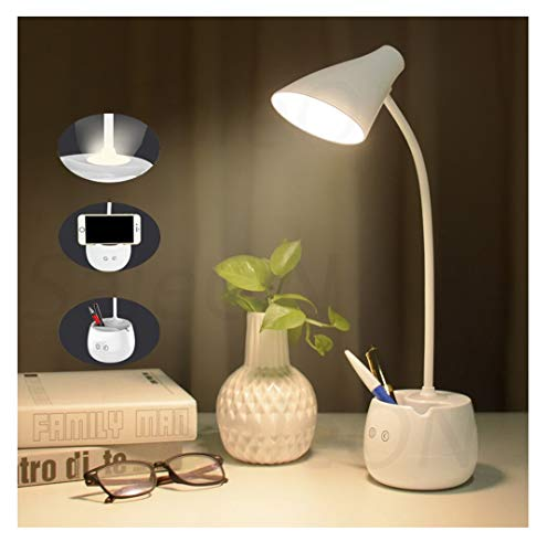 SaleOn Touch Desk lamp LED Touch On Off Switch Student Study Reading Dimmer Rechargeable Led Table Lamps Eye Protection Lamp (...
