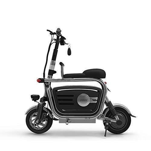 Nueva Bicicleta Eléctrica Plegable, 400 W, 48 V, Rango, 2 Ruedas, Bicicletas...