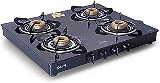 Glen 4 Forged Brass Burners Gas Stove 1041 GT FB Black