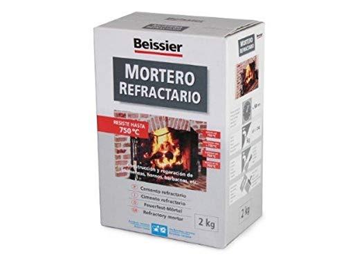 Beissier M259715 - Mortero refractario en polvo 2 kg