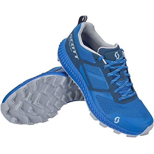 Scott Supertrac 2.0 - Botas de esquí para hombre, color azul y azul, color Azul, talla 43 EU