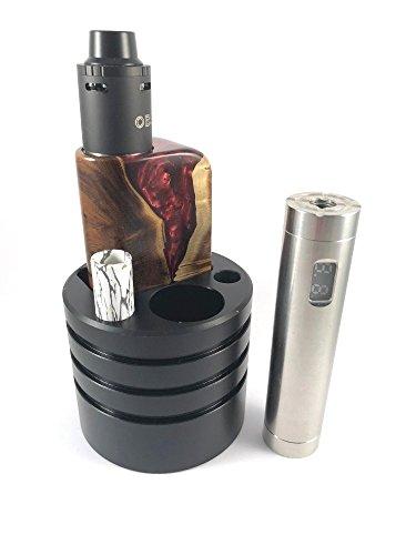 Eigenmarke Getränkehaltereinsatz für e-Zigarette - Autohalter e-Zigarette - für Boxen bis 4,5cm Länge und 2,6cm Breite & Akkuträger