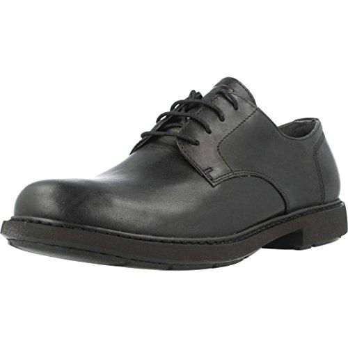 Camper Neuman Zapatos Oxford, Hombre, Negro (Black 1), 43