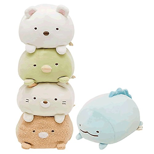 Sumikko Gurashi San-X Super Squishy Plush Set( 5items)