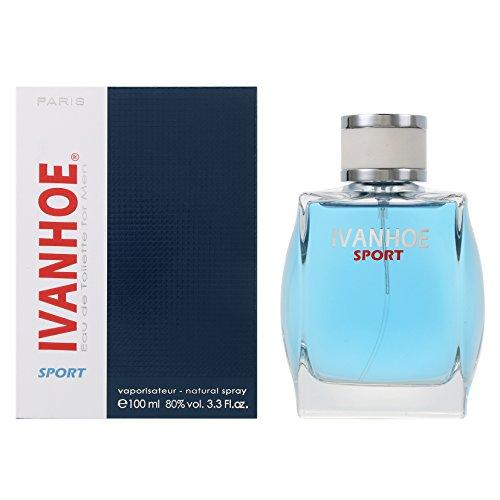 Ivanhoe Sport for Men Eau De Toilette 100ml / 3.3 Fl.oz Spray by Yves De Sistelle