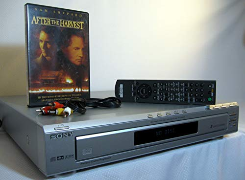 Sony DVP-NC60P 5 Disc Carousel DVD Changer/Player
