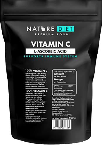 Nature Diet, Vitamina C, 500 g