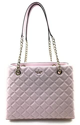 Kate Spade Natalia Tote Bag Women's Leather Large Handbag (Chalk Pink)