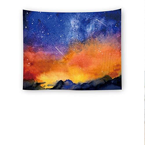 mmzki Starry Home Tapisserie Wandbehang Wandverkleidung Strandtuch Decke G 150X130cm
