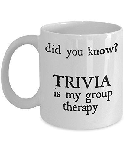 Trivia voor kinderen mok spel als gezien op shirt -Wist je feiten grappige groep therapie voor vragen kaarten speler die barst de antwoorden