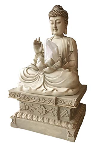 Bella Haus Design Buddha Tissue Holder Decor Tissue Box Cover - Decorative Square Tissue Container
