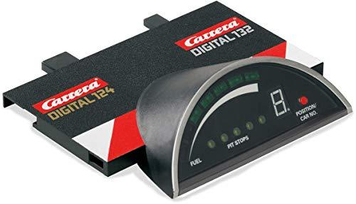 Carrera DIGITAL 132 & DIGITAL 124 Lap Counter Erweiterungsartikel & Driver Display - Elektronisches Zubehör für die Carrera DIGITAL 124 oder DIGITAL 132 - Anzeige der Rennposition, Tankinhalt