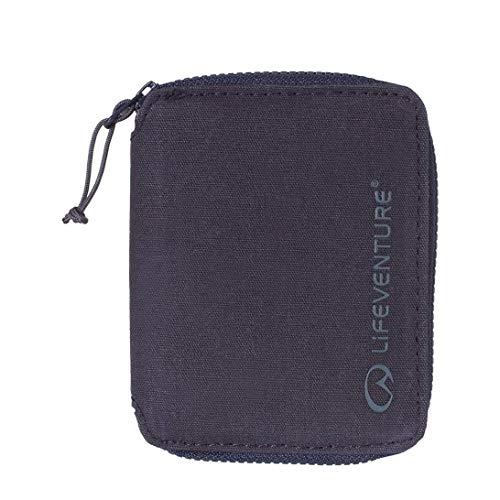 Lifeventure Portefeuille à Deux Plis avec Protection RFID, Mixte, 68271, Bleu Marine, Bi-Fold